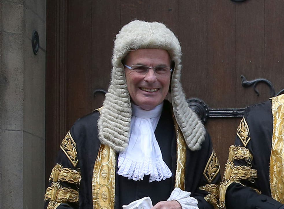 Master of the Rolls, Lord John Anthony Dyson, has told MPs on the House of Commons Justice Committee that soaring court fees will discourage 'ordinary people' from seeking justice