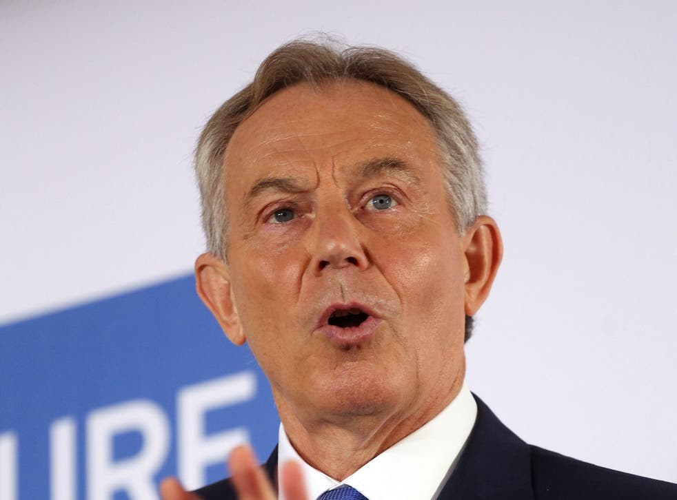 Tony Blair called antisemitism a 'poison' that Labour was fighting