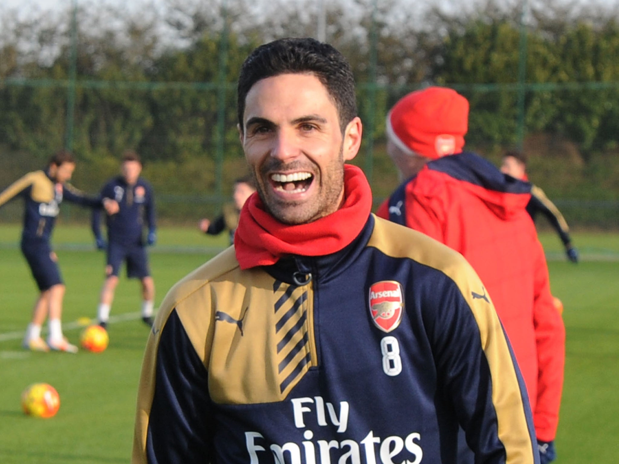 Mikel Arteta Arsenal Midfielder Lined Up For Coaching Role At Pep Guardiola S Manchester City The Independent The Independent