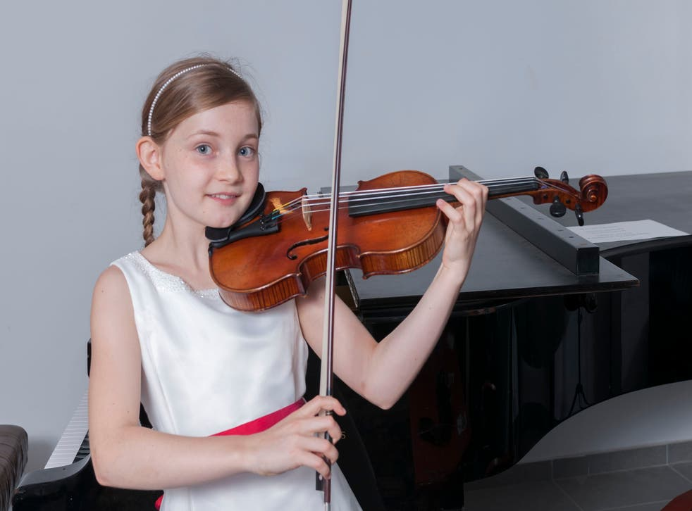 She likes climbing trees too: 10-year-old composer, singer, soloist and novelist Alma Deutscher