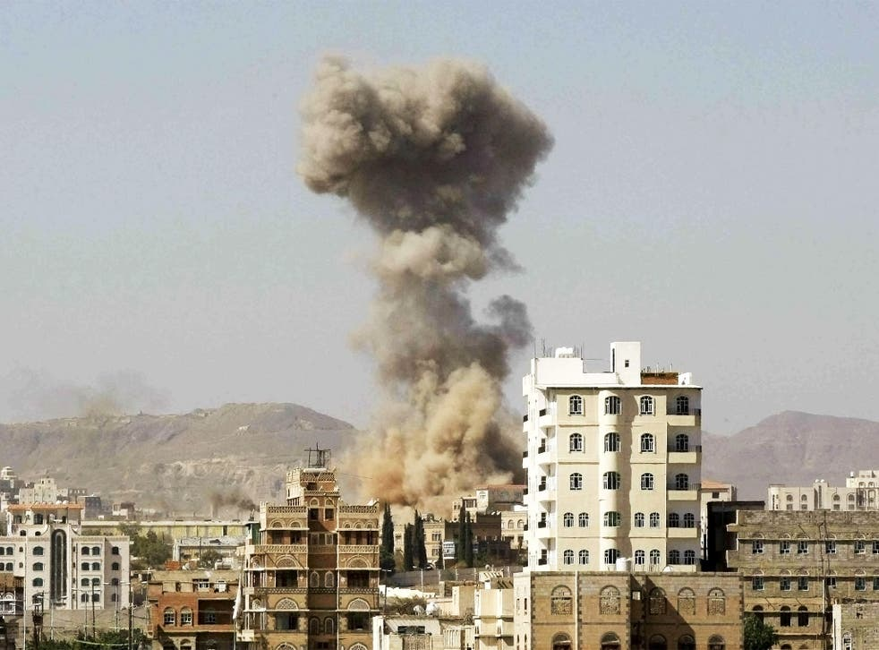 Two Yemeni television journalists living in a residential neighbourhood in the capital of Yemen have been killed by Saudi-led coalition airstrikes