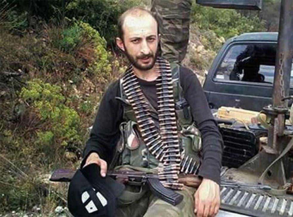 Alparslan Celik has been fighting alongside beleaguered Turkmen rebels