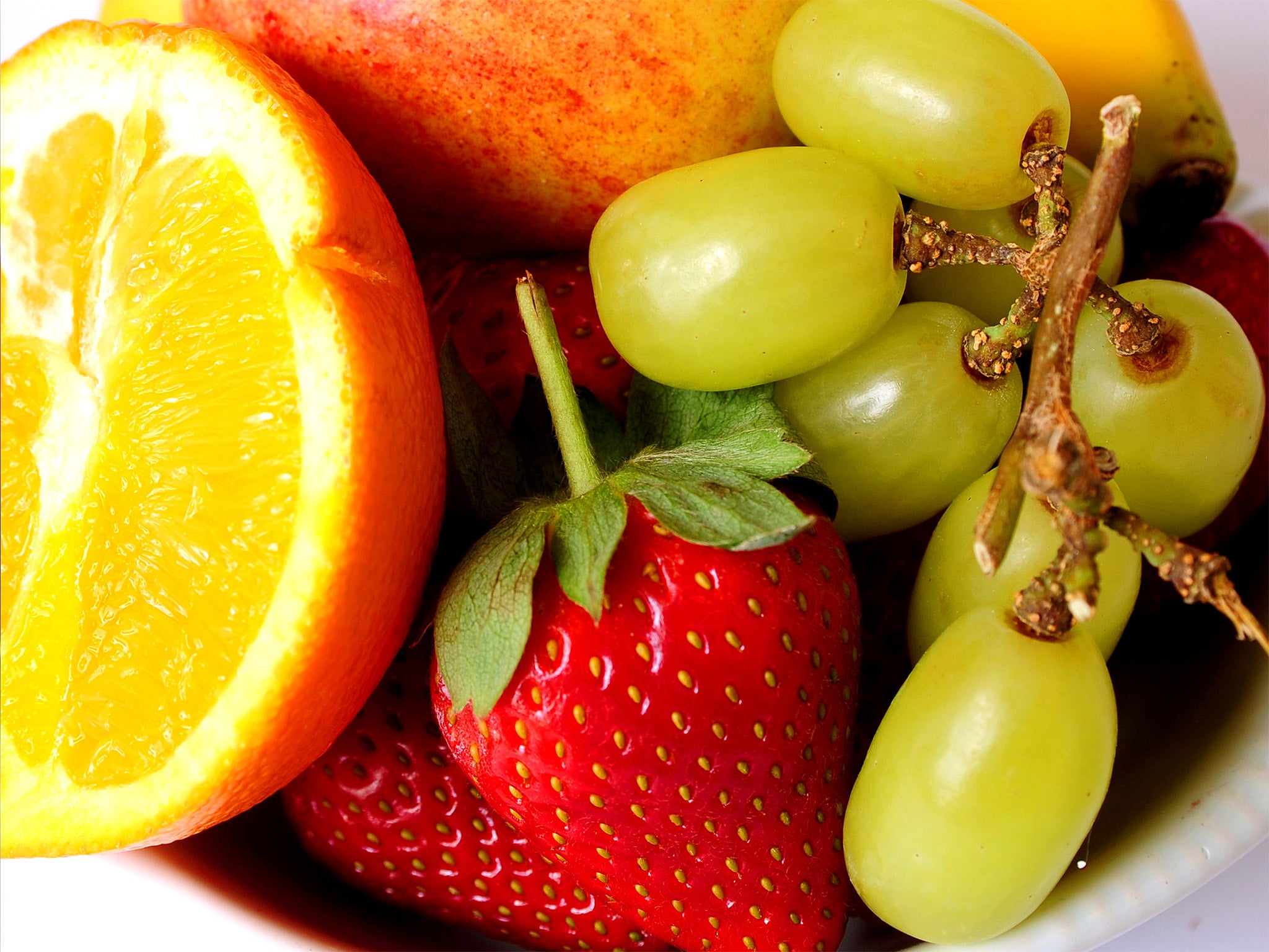 Flavonoids Key pound in fruit and ve ables could prevent