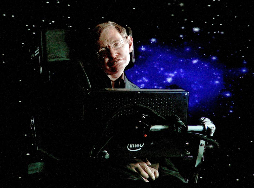 Professor Stephen Hawking wasn't so much trying to win over new converts as addressing those already in the know
