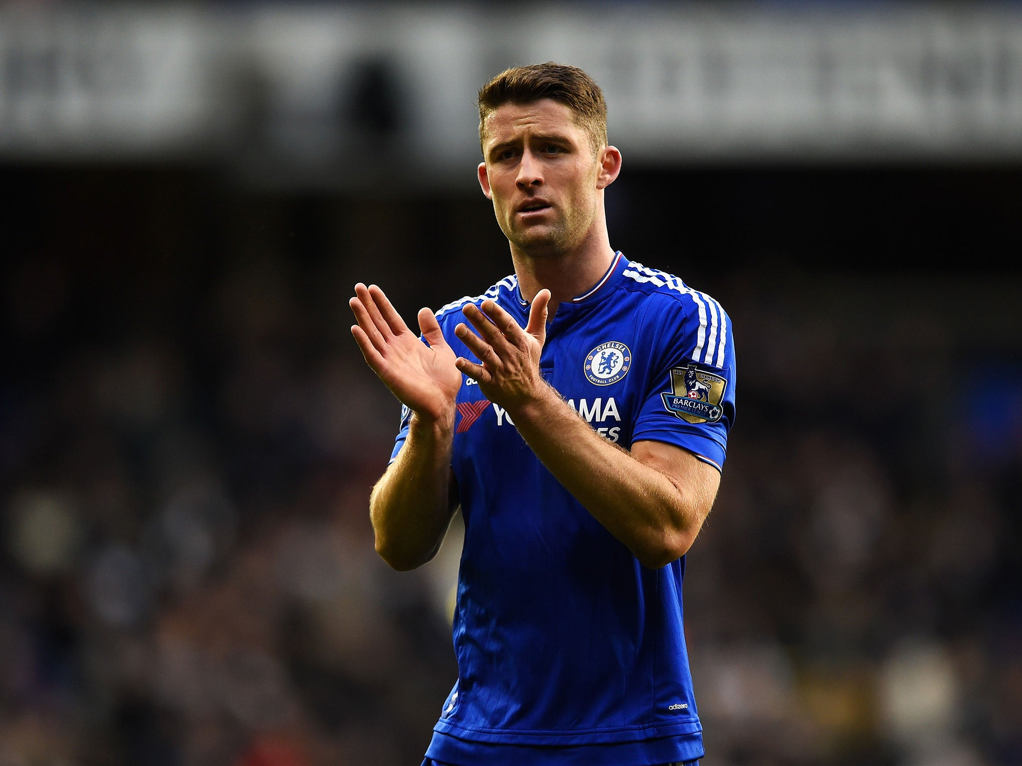 Cahill has been solid for Chelsea this season.