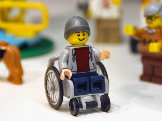 The disabled Lego figures that have