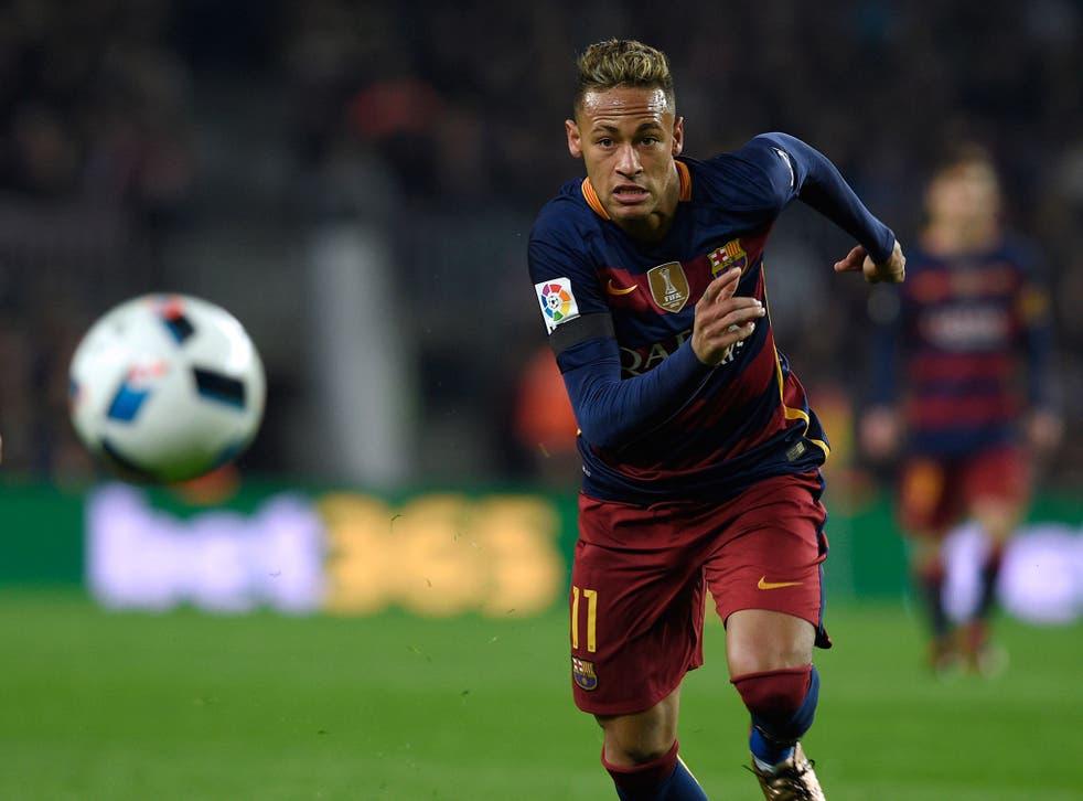 Neymar has been described as 'very, very, very happy at Barcelona'