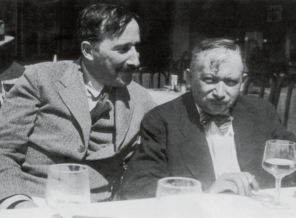 Troubled friendship: Stefan Zweig (left) and Josef Roth in Ostend in 1936