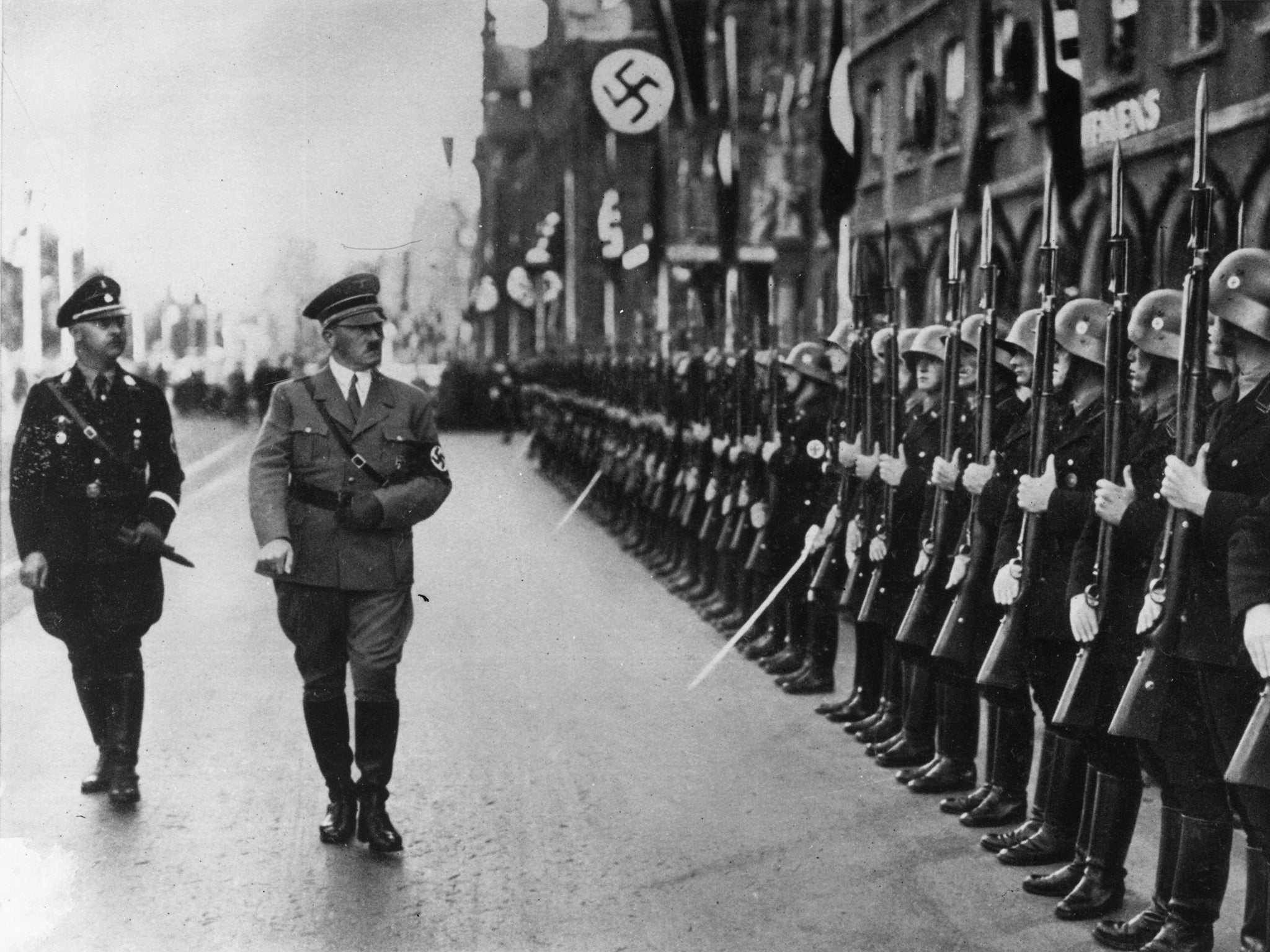 a history of race and religion discrimination in the nazi holocaust by adolf hitler Adolf hitler did many things that nobody would have imagined a person could do hitler, along with his hatred for jewish, and his army of nazi's, known as the ss, led the world's largest revolution.