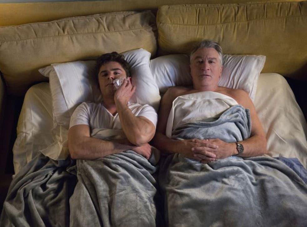 Zac Efron and Robert de Niro in 'Dirty Grandpa'