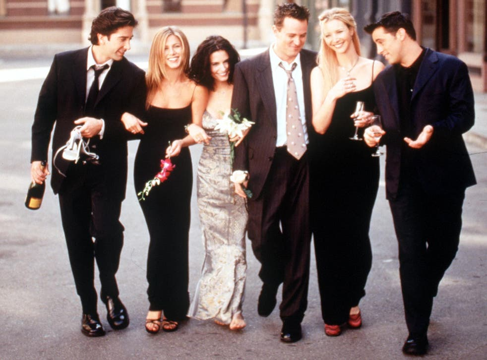 Ross, Rachel, Monica, Chandler, Phoebe, Joey