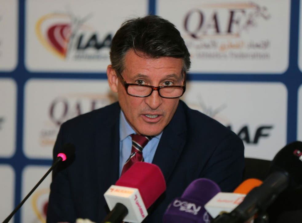 Sebastian Coe, the IAAF president, has had a difficult first six months in the job