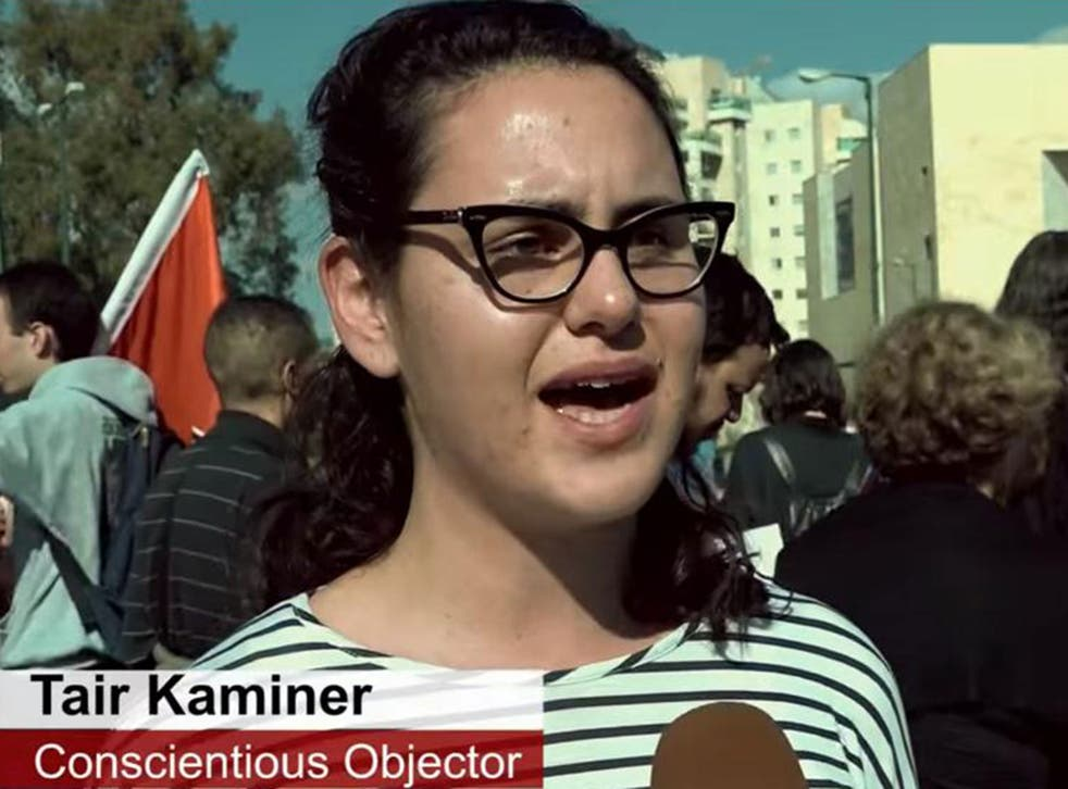 Tair Kaminer said she could not support the occupation after seeing the effect of war on children living near the Gaza border.