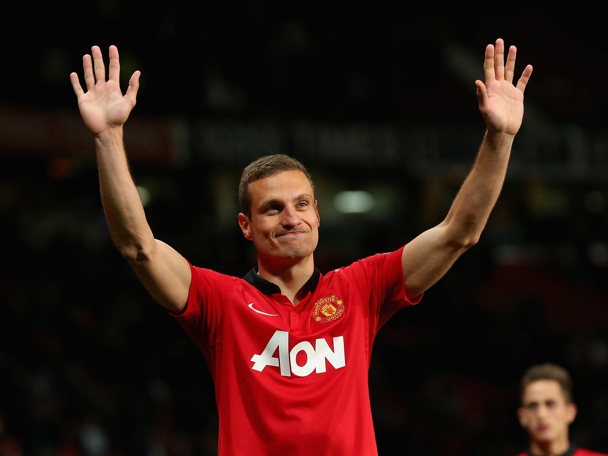 Nemanja Vidic returns to Manchester United in an ambassadorial