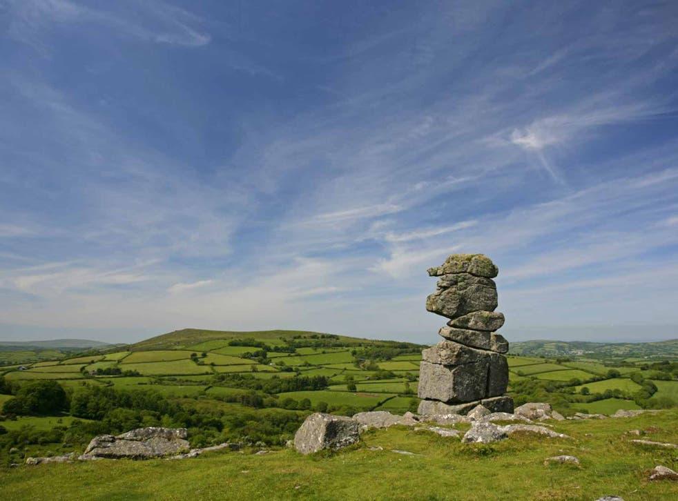 Bowerman's Nose, a granite Dartmoor landmark