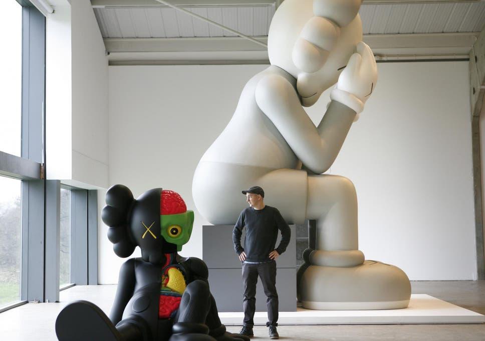 b1245e29c46e2d Pop artist KAWS  gigantic cartoon sculptures will be taking over the ...