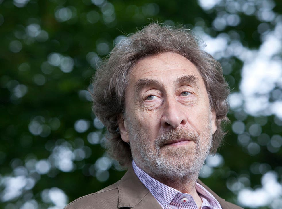 Howard Jacobson, the Man Booker Prize-winning British author and journalist, at the Edinburgh International Book Festival