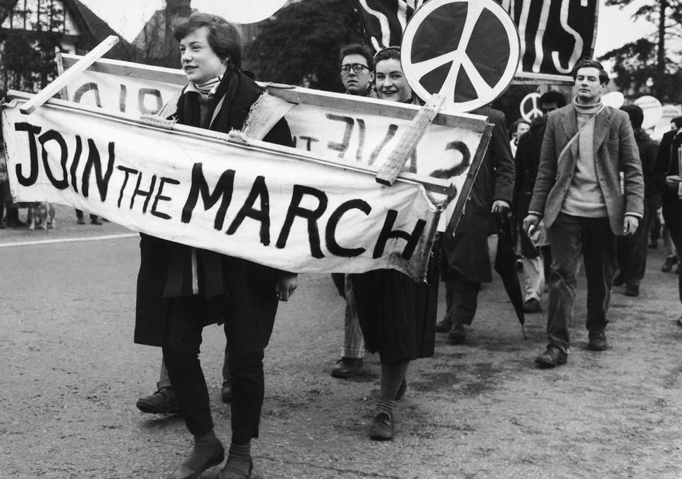 60 years ago, the Campaign for Nuclear Disarmament was founded ...