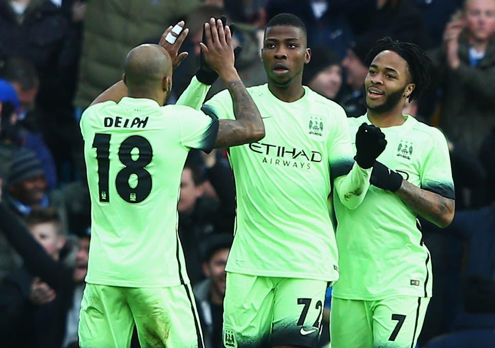 f24e7fdf9f2 Aston Villa vs Manchester City match report  Kelechi Iheanacho hits hat- trick as to keep quadruple dream alive