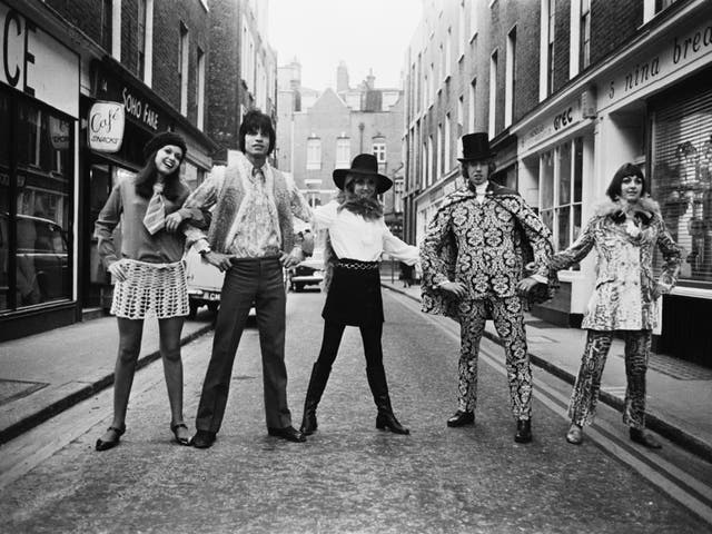 """Carnaby Street fashions in Soho in 1967; the """"Swinging Sixties"""" came first in a survey into the ideal destinations for time travel"""