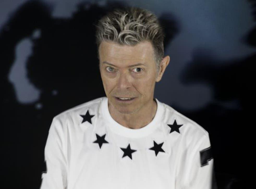 David Bowie in a publicity shot for his final album, 'Blackstar'