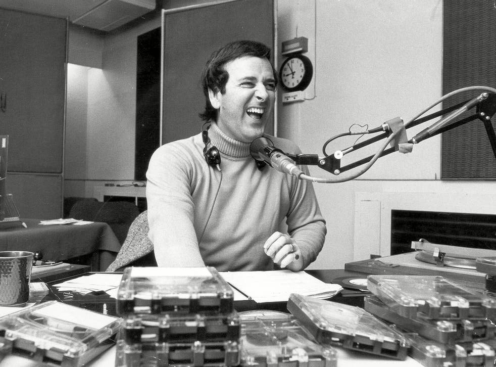 Terry Wogan on Air In 1976 At BBC Manchester