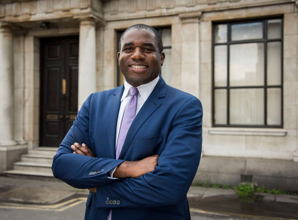 David Lammy is challenging the government over planned cuts to disability benefits.