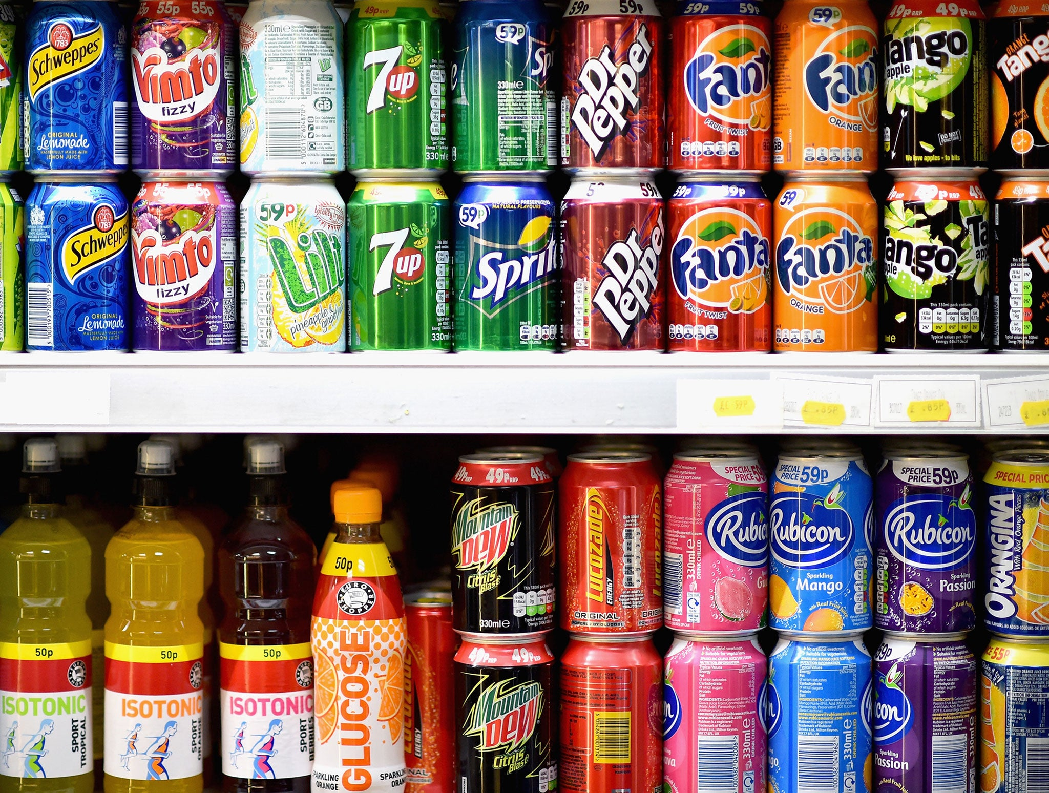 Fizzy drinks may cause you to age faster