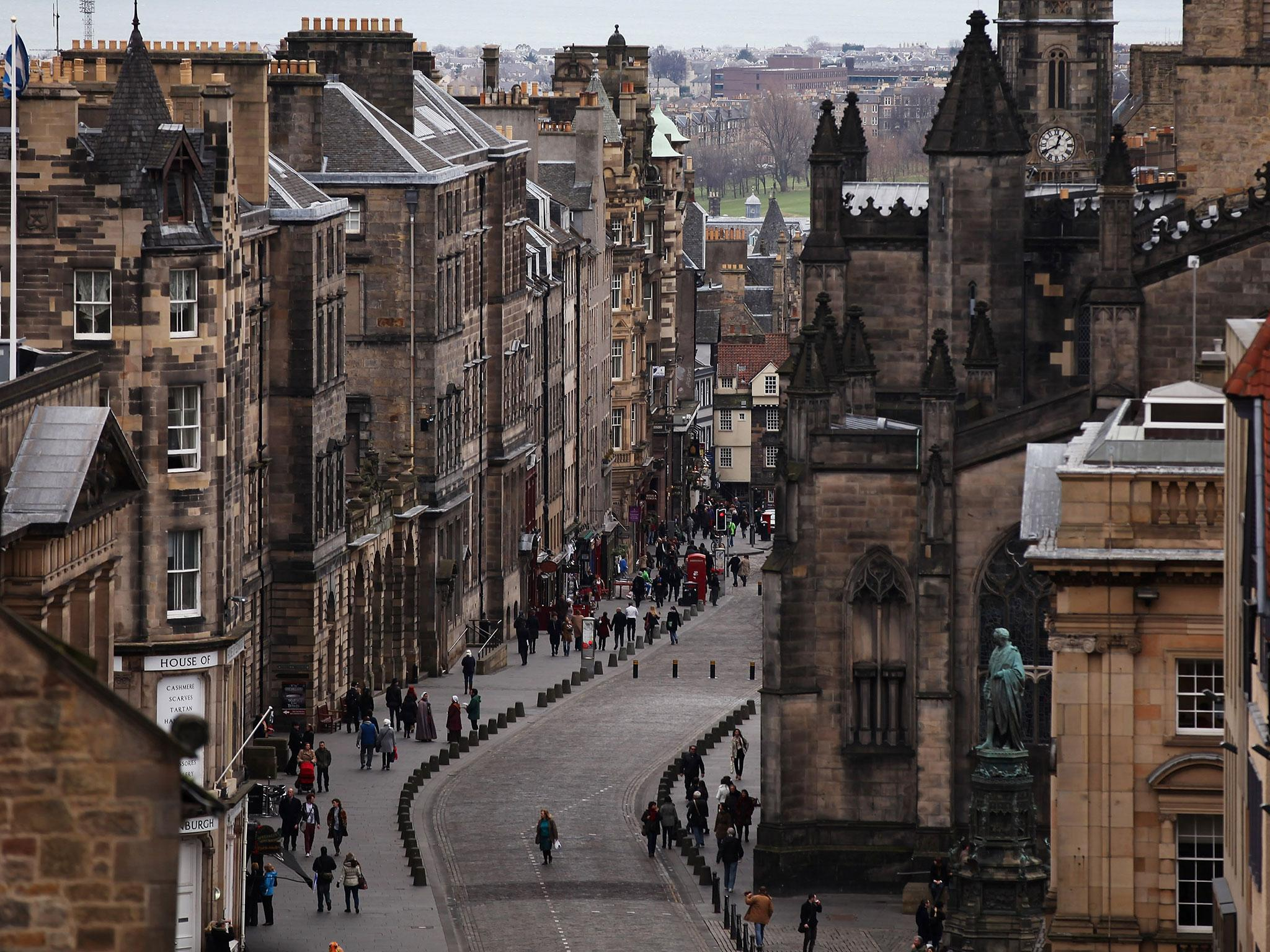 16. Edinburgh, Scotland