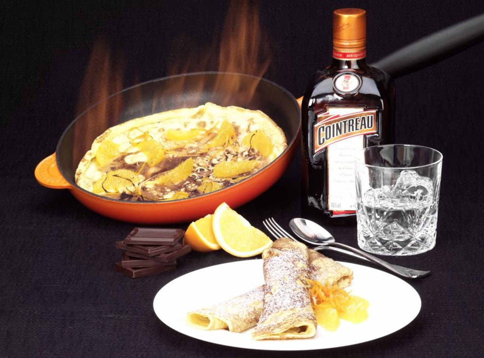 Flipping delicious: whatever the story behind their name, crêpes Suzette are fit for a prince