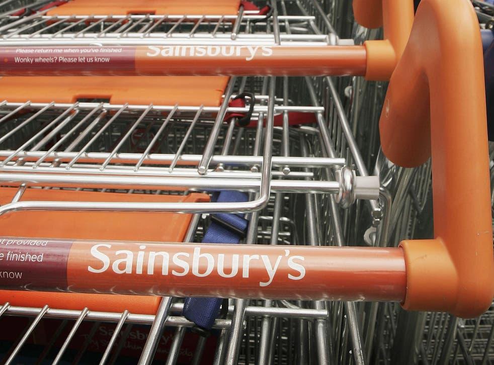 Sainsbury's has 1,300 shops in the UK; Argos has 800