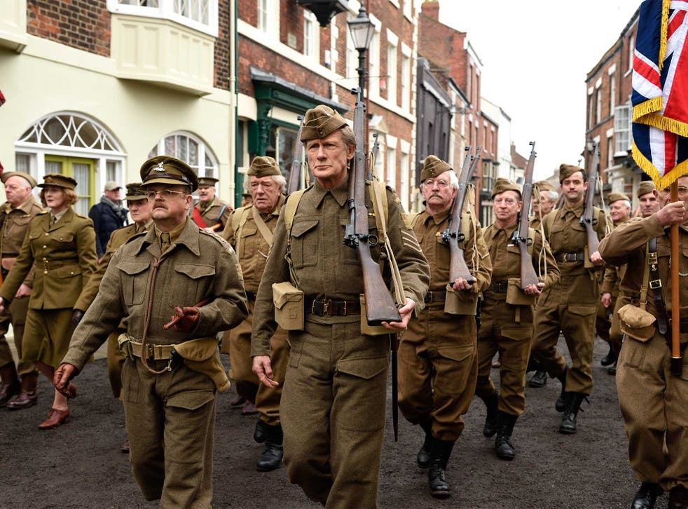 Bridlington was the set for the march in the Dad's Army film