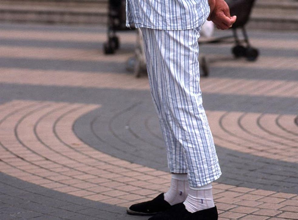 The judge wants to put a stop to people dressing inappropriately in court