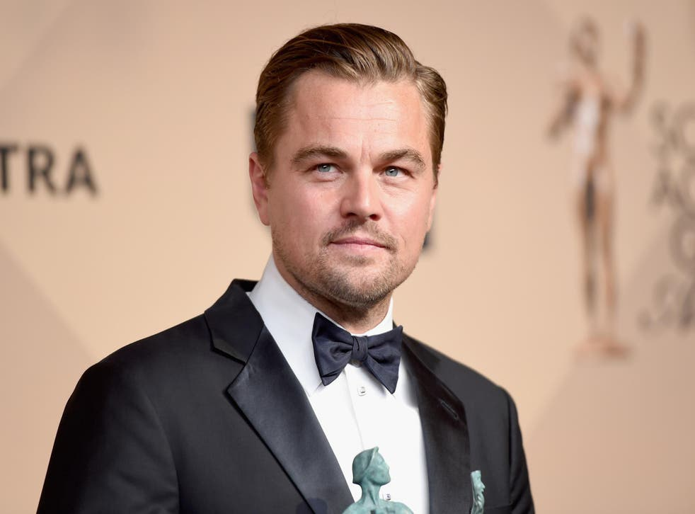 DiCaprio won Best Actor at the 22nd Annual Screen Actors Guild Awards