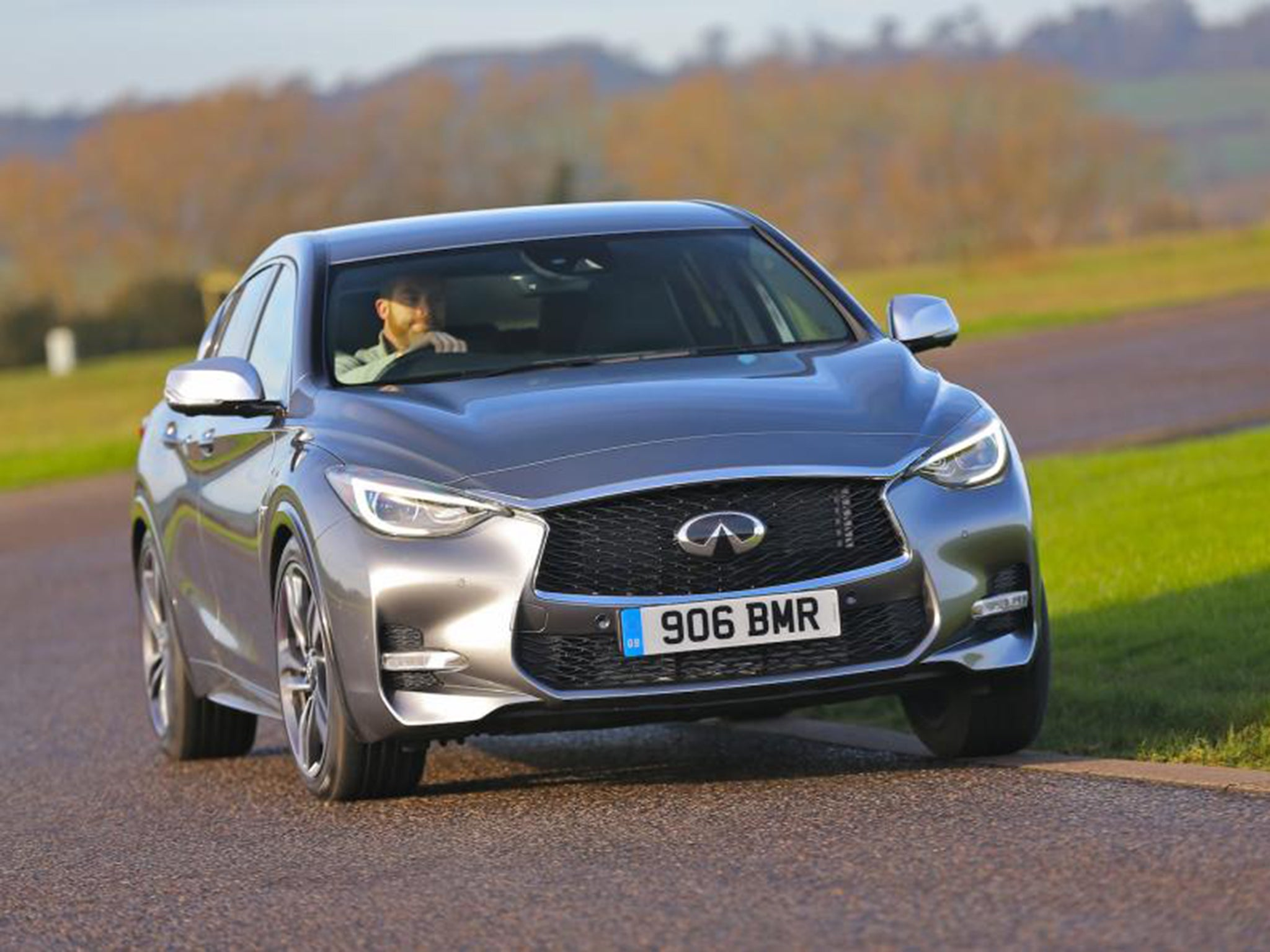 Infiniti q30 2 2d awd car review nissan luxury brand takes on bmw and audi the independent