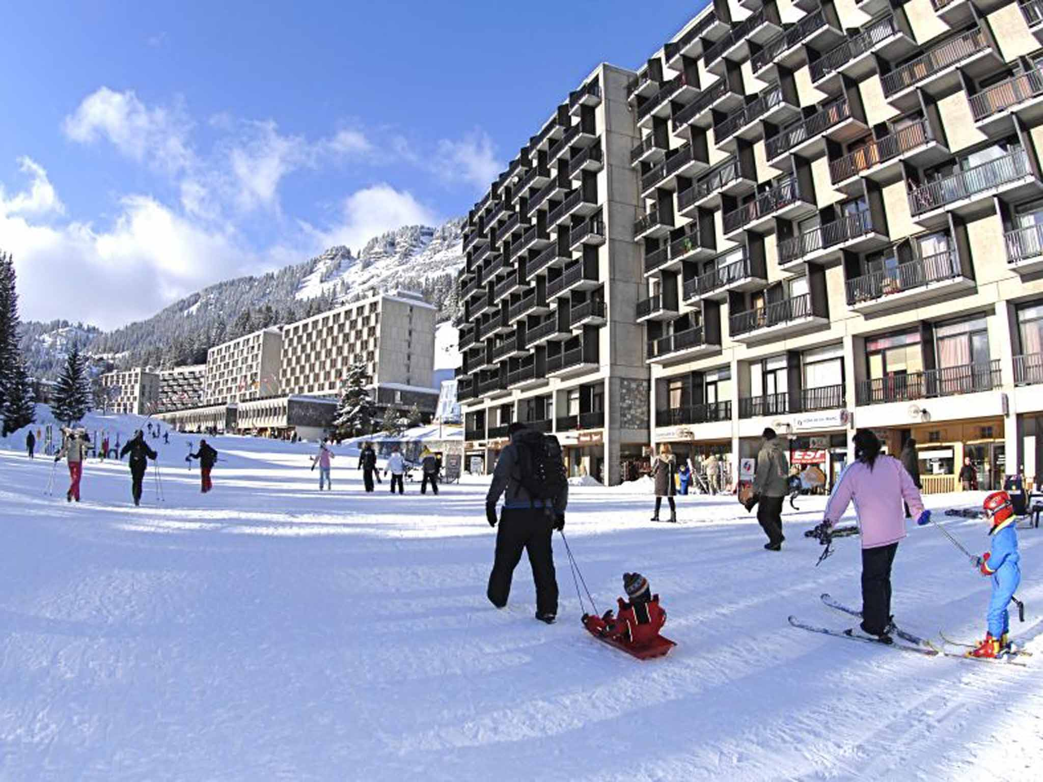 skiing at flaine: the revitalisation of a french ski resort | the