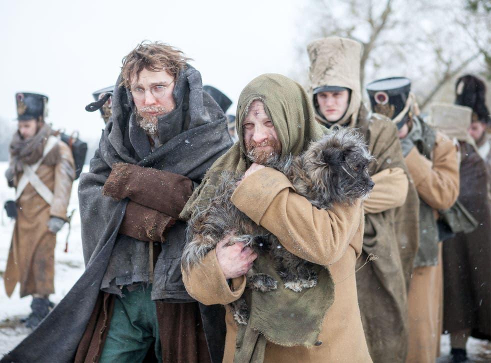 'War and Peace' stars Paul Dano and Adrian Rawlins