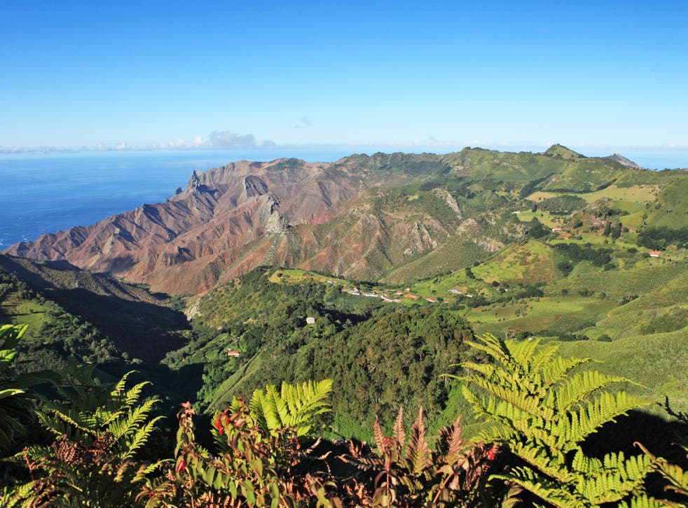 The 'Galapagos of the South Atlantic': St Helena