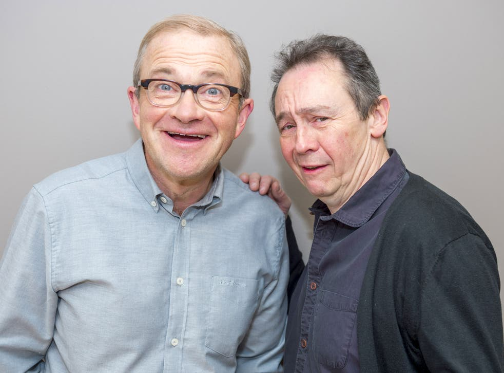 Enfield, left, with his comedy partner Paul Whitehouse