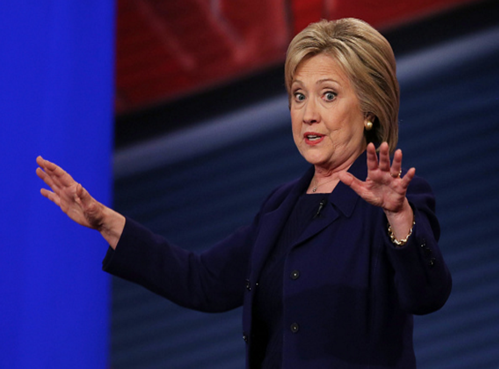 Hillary Clinton had one misstep during CNN's Democratic town hall.