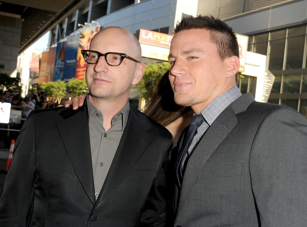 Steven Soderbergh and Channing Tatum