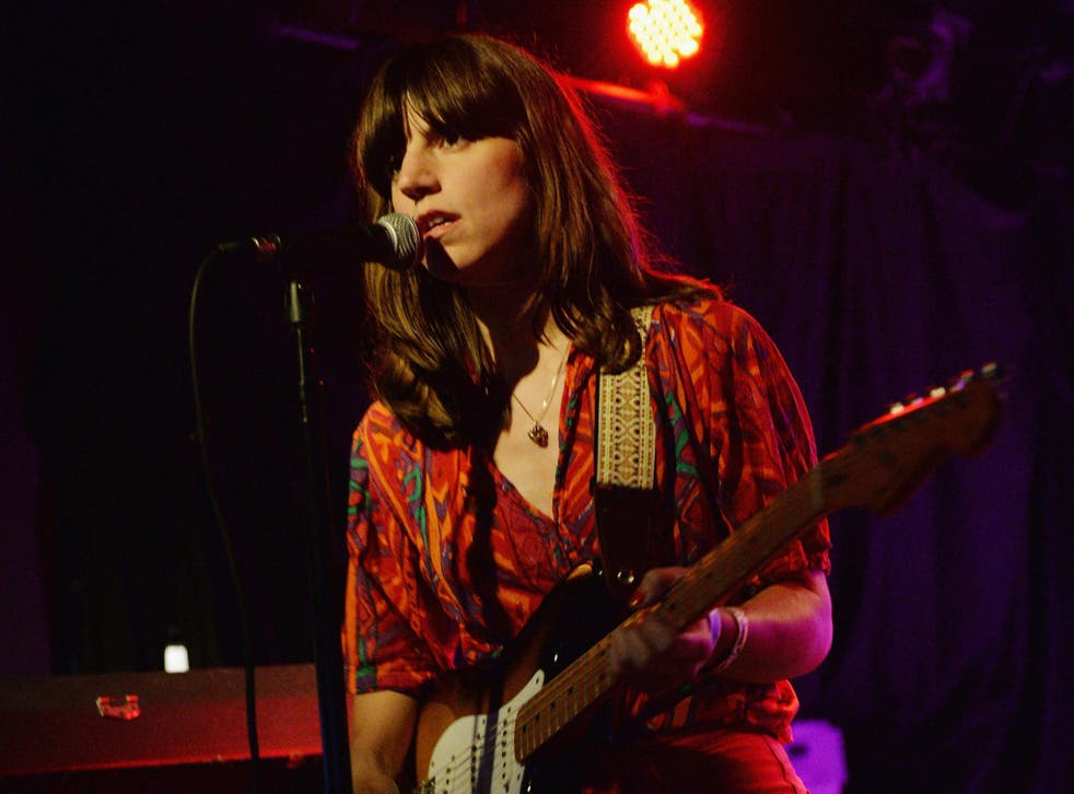 Musician Eleanor Friedberger performs at The Echo on June 18, 2013 in Los Angeles