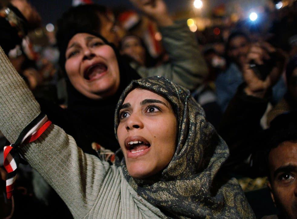 False dawn: crowds celebrate in Tahrir Square, Cairo, after Hosni Mubarak steps down