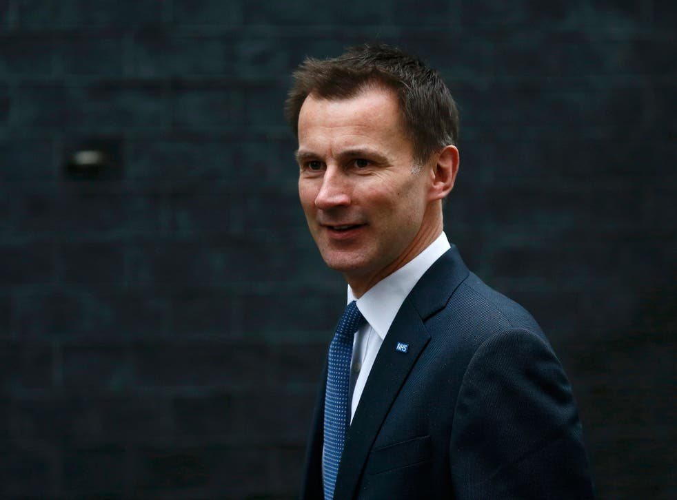 Health Secretary Jeremy Hunt has been criticised by doctors