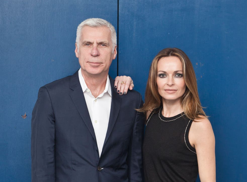 Giddings says: 'I've always felt very fatherly towards Sharon. I suppose that's unusual in this business'
