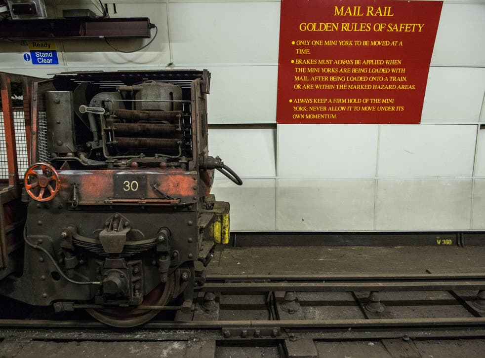 After almost a century of disuse London's Rail Mail will return to the tracks 70 ft beneath the ground