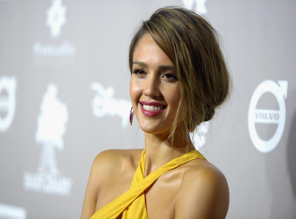 Alba also backed Jennifer Lawrence's call for equal pay