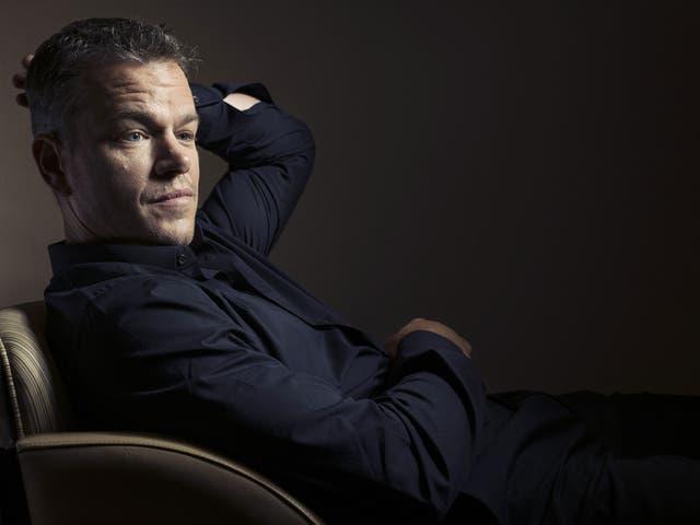 Matt Damon, saving the world, one movie at a time