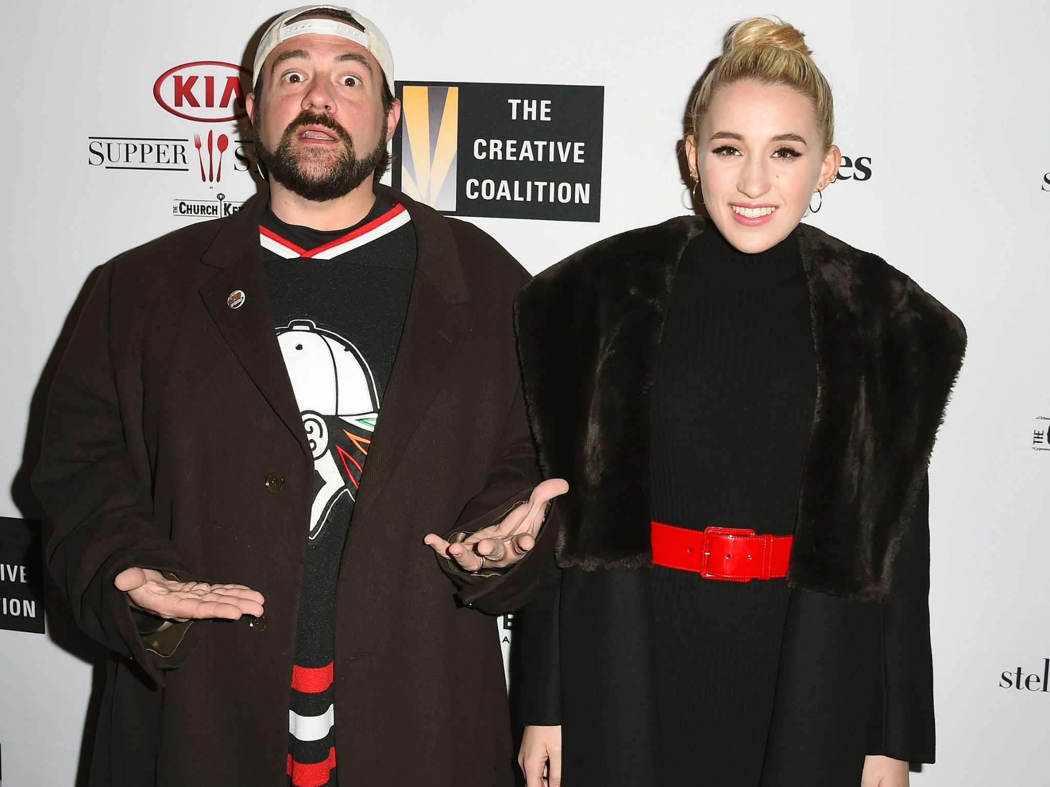 Kevin Smith Highlights Abuse Experienced By Teenage Daughter Harley Quinn Smith The Independent The Independent