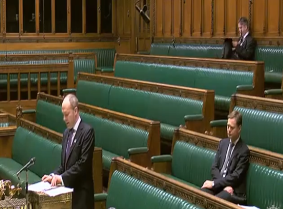 Justin Tomlinson responds to the proposed Bill in Parliament